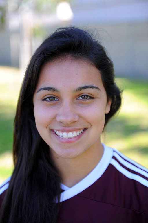 . Allison Arriola #25 Torrance High School soccer 2/13