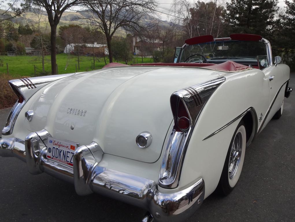 . John Odne\'s 1954 Buick Skylark   (Photo by David Krumboltz)