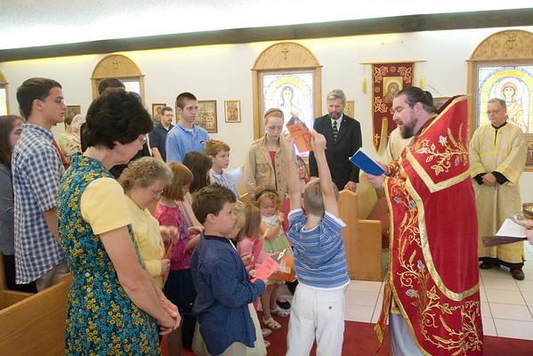 2009-09-13 Sunday School Blessing