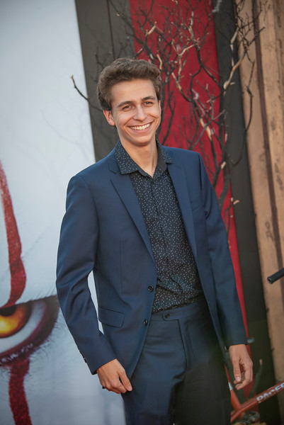 """WESTWOOD, CA - AUGUST 26: Gabe Erwin attends the Premiere Of Warner Bros. Pictures' """"It Chapter Two"""" at Regency Village Theatre on Monday, August 26, 2019 in Westwood, California. (Photo by Tom Sorensen/Moovieboy Pictures)"""