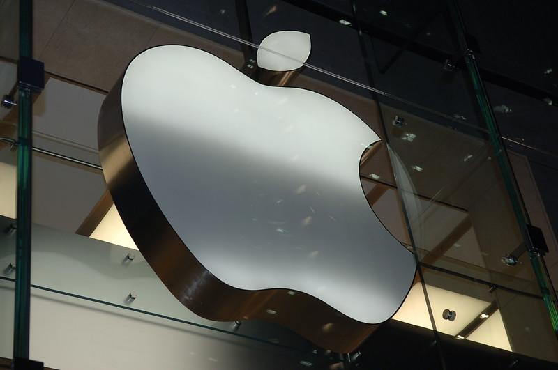 Huge Apple Sign