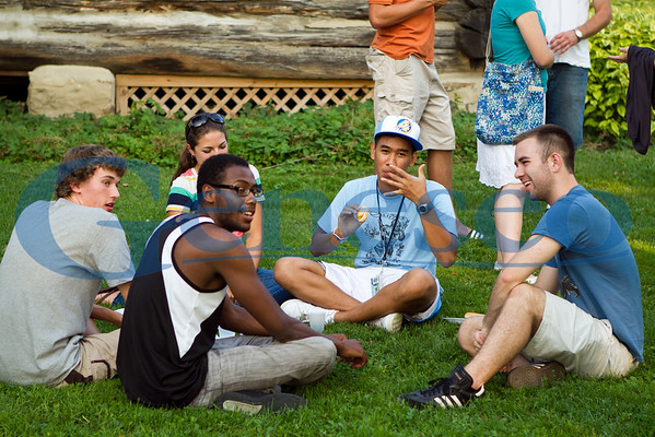 Intervarsity Christian Fellowship Picnic/Luau - Fall 2011