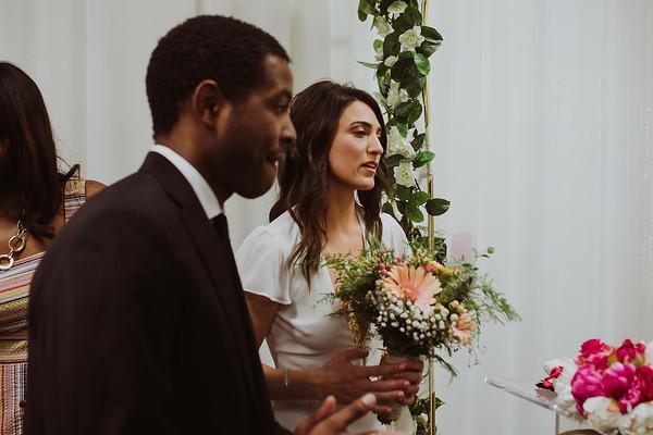 Ilaria & Troy Wedding / Beverly Hills Courthouse