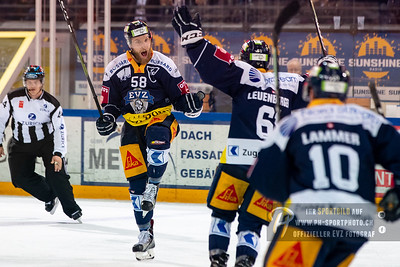 National League Playoff Halbfinal (1): EV Zug - HC Lausanne