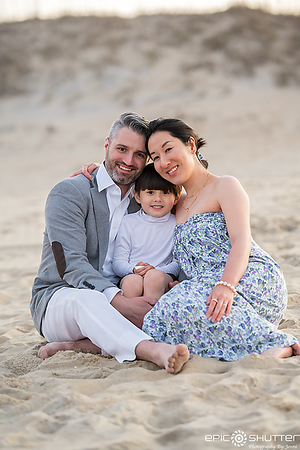 Nags Head, North Carolina, Sunset Family Portraits