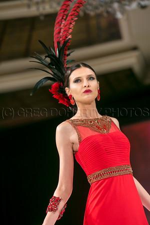 Sue Wong Mythos & Goddesses Fashion Show