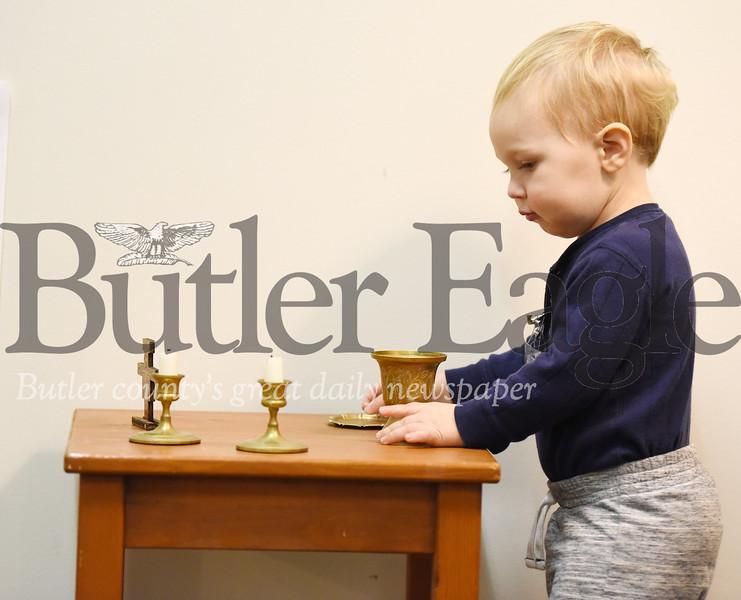 Harold Aughton/Butler Eagle: Athanasius Stanish, 19 months,