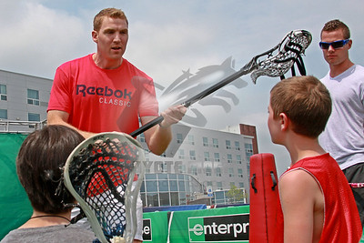 5/26/2012 - NLL player appearances at the NCAA Tournament - Gillette Stadium, Foxborough, MA