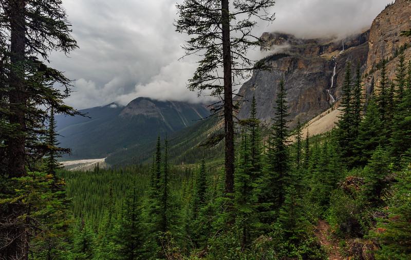 Falls Of Emerald Glacier