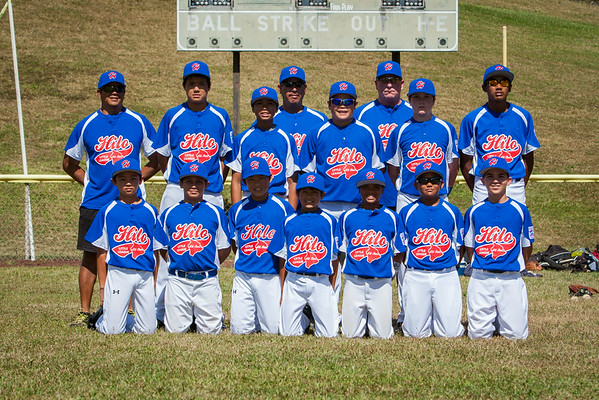 Little League Hilo All Stars Portraits (6/21/14)