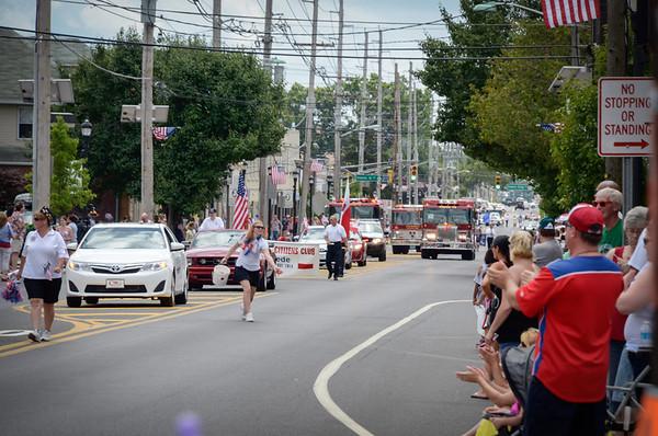 Runnemede 4th parade 7-4-2013