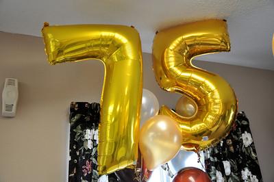 Bennie's 75th Birthday Card Shower Jan 23, 2010