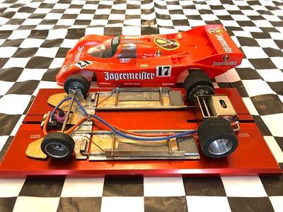 Porsche rear motor cars