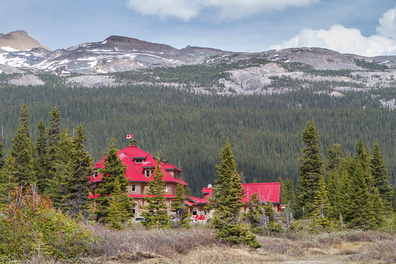Historical Lodge, Bow Lake
