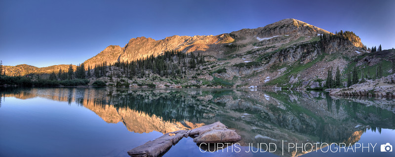 Cecret Lake Panorama 1