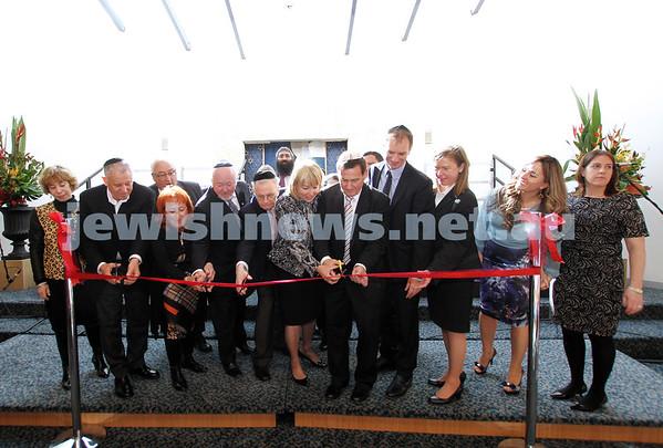 Hamerkaz Centre Opening