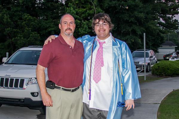 Matthew Thornley HS graduation 06-11-13