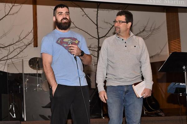 Brad and Kyle Baptism