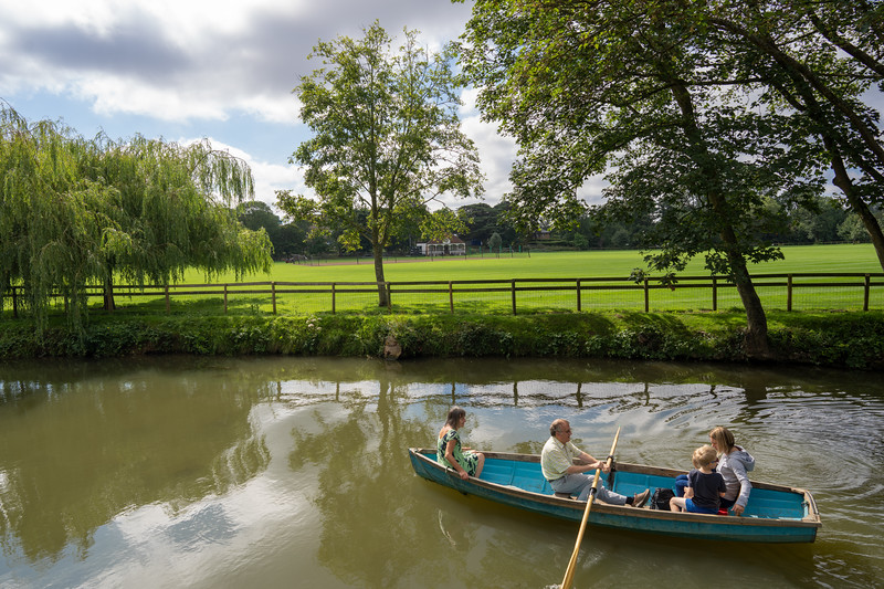 Rowing on the Cherwell, Oxford (Jul 2021)