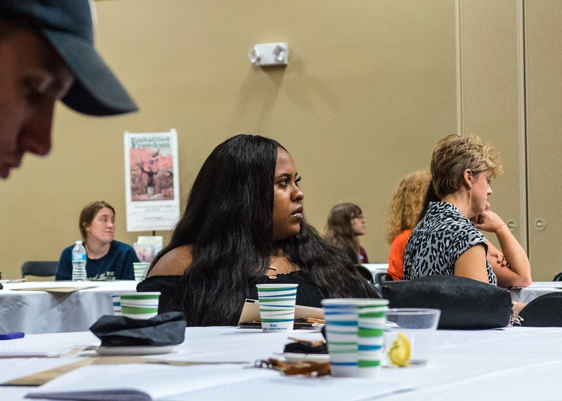"Oct 10, 2018 Oct DFCLT-""It Begins with Each of Us-Fostering Racial Understanding""  Forum"