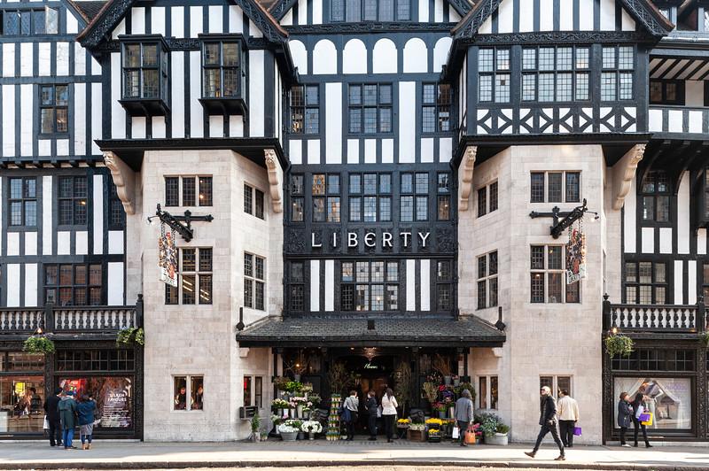 Liberty store, Great Marlborough Street, London, United Kingdom