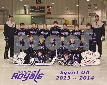 Richmond Royals Squirt UA 01-29-14