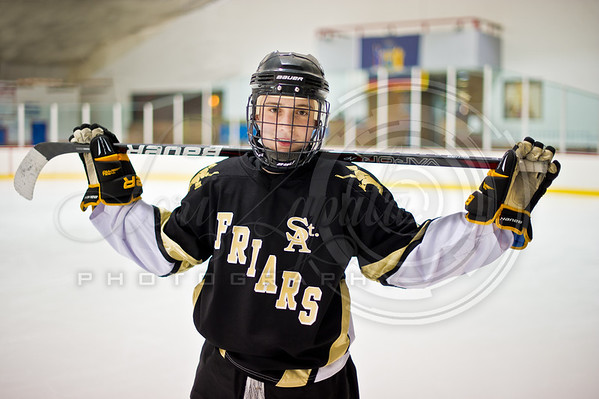 2012-02-06 - St. Anthony's Friars Junior Varsity Team Picture Day