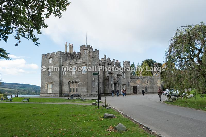Balloch Castle & Clock Tower Scotland.