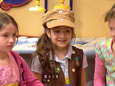 Girl Scouts - Build a Bear