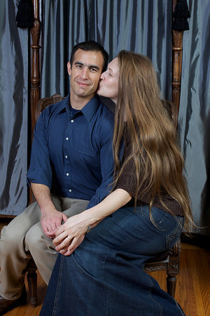 Rebekah and Alex Romo
