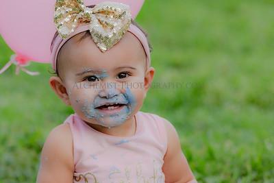Saoirse's 1st Birthday / Cake Smash