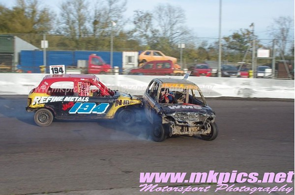 Junior Bangers, Northampton 25 October 2015