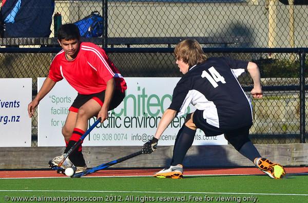 2012-08-22 Hockey OTHC v Papatoetoe High School