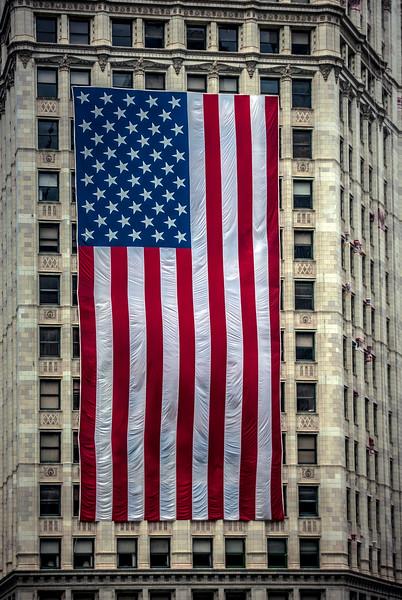Wrigley Flag