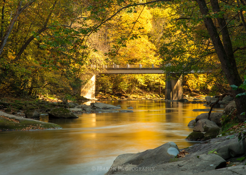 Eckert Bridge in Autumn