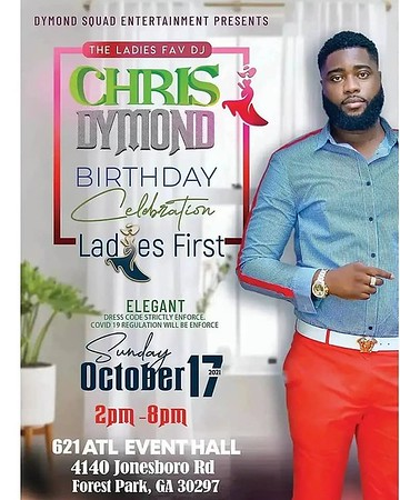 CHRIS DYMOND'S BIRTHDAY CELEBRATION 2021