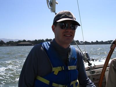 Sailing SF Bay May 7 2006