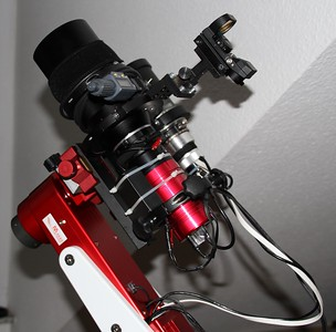 ICX814 CCD on Zeiss Sonnar 135mm