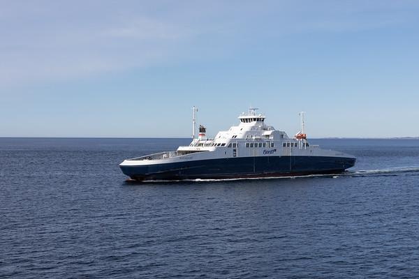 Ferry to Bergen