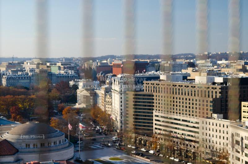 Pennsylvania Avenue and the White House in Washington D.C.