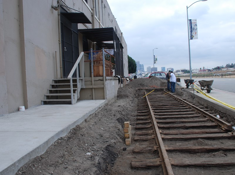 2007, Excavating Rail Tracks