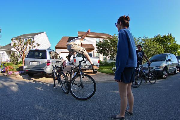 12 mile biking adventure