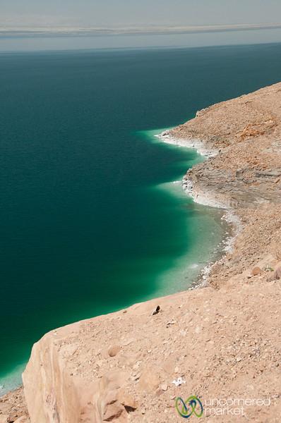 View of the Dead Sea Coast - Jordan