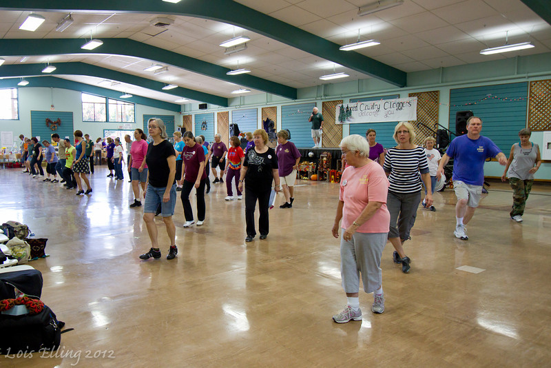 Dancers at Late Harvest Stomp, 2012.
