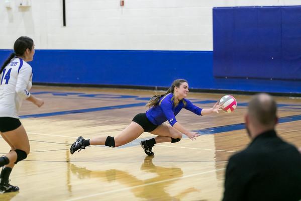 Rockdale Varsity Volleyball v Academy Best Action
