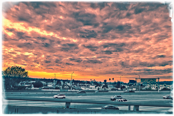 January 8 - Sunset in La La Land over the 405.jpg
