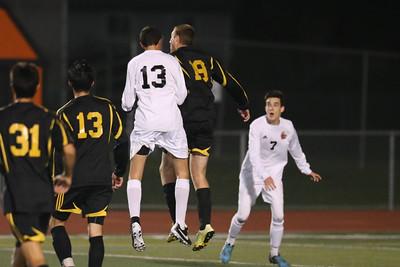 Cal High Men's Soccer 1-16-15