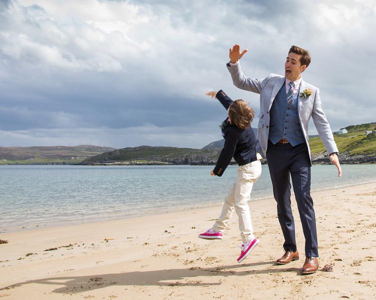 Beach Wedding Photography Scotland