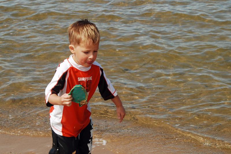 1445 Ivan at the Lake Huron beach in Cheboygan.jpg