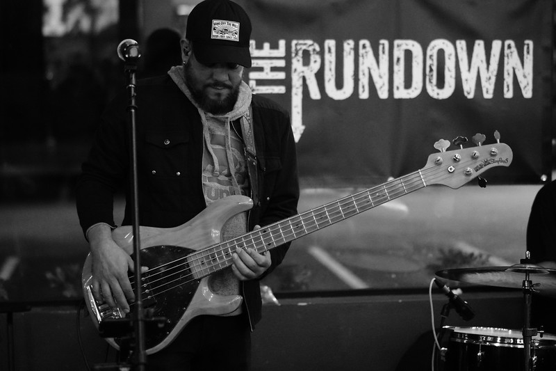 The Rundown with guest drummer Rai Torres
